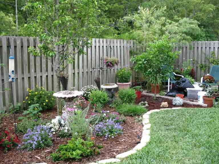 Планировка дачного сада