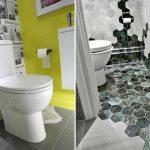11 способов сделать маленький туалет интересным и не скучным