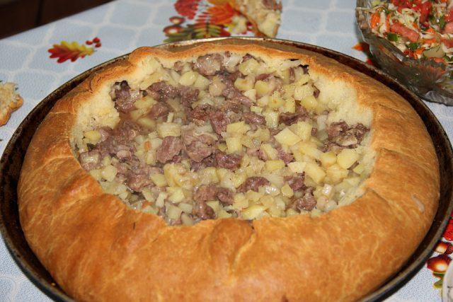 Беляш татарское блюдо рецепт с фото
