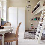 Эффектное решение: Дизайн квартиры площадью 22 кв.м.