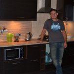 Кухня к приезду жены из командировки