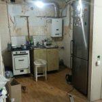 Белая кухня, хрущевка, 5,6 кв.м.