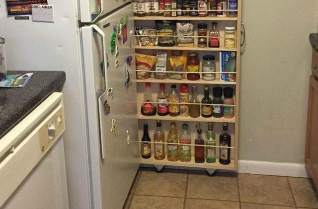 """Результат пошуку зображень за запитом """"Превращаем крошечное пространство на кухне в идеальную кладовку для специй"""""""