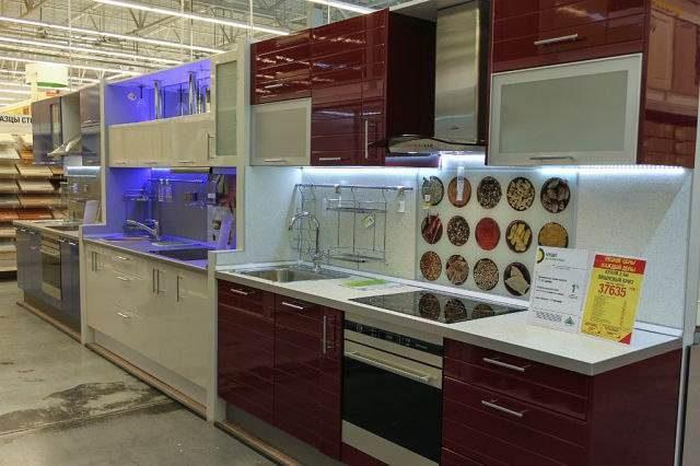 Дизайн кухни леруа мерлен фото